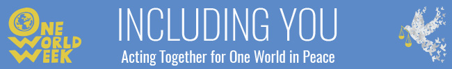 OneWorldWeek — Including You Banner